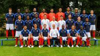 La France possède l'équipe la plus jeune de la compétition.