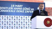 Le président turc Recep Tayyip Erdogan le 18 mars 2017