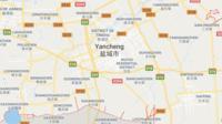 La déflagration s'est produite à 14H48 heure locale (06H48 GMT) dans l'entreprise Tianjiayi Chemical, située dans la ville de Yancheng, dans la province du Jiangsu (est)