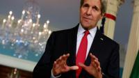 Le secrétaire d'Etat américain John Kerry à Washington le 16 décembre 2015 [YURI GRIPAS / AFP/Archives]