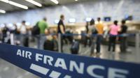 Les syndicats de pilotes d'Air France menacent d'une grève [VANDERLEI ALMEIDA / AFP/Archives]