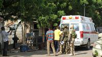 Plus de 50 personnes ont été tuées dans l'attaque menée cette semaine par Boko Haram contre une mission pétrolière dans le nord-est du Nigeria [ / AFP/Archives]