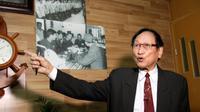 Tran Trong Duyet, anciendirecteurde la prisonde Hoa Lo à Hanoï, chez lui à Haiphong dans le nord du Vietnam, le 3 janvier 2018 [Nhac NGUYEN / AFP]