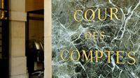 L'entrée de la Cour des comptes à Paris le 20 septembre 2016 [BERTRAND GUAY / AFP/Archives]