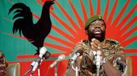 Jonas Savimbi le 11 décembre 1985 à Jamba, dans le sud de l'Angola [Trevor Samson / AFP/Archives]