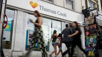 Une agence Thomas Cook à Londres, en juillet 2019 [Tolga Akmen / AFP/Archives]