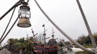 Vue datée du 31 mars 2012 de la Baie des Pirates à Disneyland Paris [Thomas Samson / AFP/Archives]