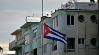 Drapeau cubain à La Havane, le 19 mai 2018 [Yamil LAGE / AFP/Archives]
