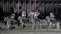 Défilé Dior dans les Grandes Ecuries de Chantilly, le 25 mai 2018  [Bertrand GUAY / AFP]