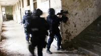 Des gendarmes du GIGN lors d'un exercice à Etampes près de Paris, en janvier 2011   [FRED DUFOUR / AFP/Archives]