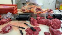 De la viande rouge au rayon boucherie d'une grande surface [Sebastien Bozon / AFP/Archives]