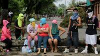 Des opposants au président nicaraguayen, le 5 juin 2018 à Masaya [Inti OCON / AFP]