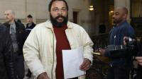 L'humoriste Dieudonné au tribunal de Paris, le 12 mars 2015 [LOIC VENANCE / AFP/Archives]