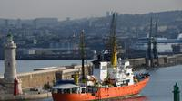 L'Aquarius arrive dans le port de Marseille le 29 juin 2018 [Boris HORVAT / AFP/Archives]