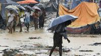 Des réfugiés rohingyas dans le camp de Balukhali, au Bangladesh, le 17 septembre 2017. [DOMINIQUE FAGET / AFP]
