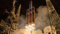 Lancement de la sonde Parker Solar Probe le 12 août 2018 depuis Cape Canaveral en Floride [Bill INGALLS / NASA/AFP/Archives]