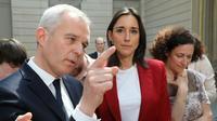 Le ministre de l'Ecologie François de Rugy, le 23 mai 2019 à l'Elysée [Ludovic MARIN / POOL/AFP]
