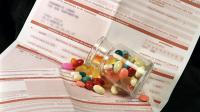 Des médicaments et une feuille de soin [Jean-Pierre Muller / AFP/Archives]