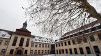 Cour principale de l'ENA, l'Ecole nationale d'administration, le 15 janvier 2013 à Strasbourg [Patrick Hertzog / AFP/Archives]