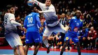 L'équipe de France a été surclassée par Luis Frade et le Portugal pour son entrée dans l'Euro à Trondheim, le 10 janvier 2020  [Ole Martin Wold / NTB scanpix/AFP]