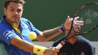Le Suisse Stan Wawrinka lors du Masters 1000 de Monte-Carlo, le 19 avril 2017  [Yann COATSALIOU / AFP]