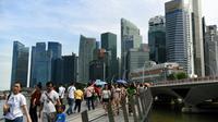 Les chambres d'hôtels à Singapour sont prises d'assaut, la police se prépare à boucler la ville-Etat et des milliers de journalistes sont attendus pour le plus grand show médiatique de la planète [Roslan RAHMAN / AFP/Archives]