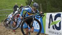 Le vélo de Femke Van den Driessche comporté un moteur caché lors des Championnats du monde de cyclo-cross.