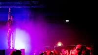 Concert lors du festival Statement, réservé aux femmes, non-binaires et personnes transgenre.