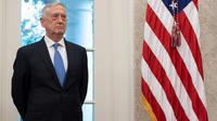Le ministre de la Défense Jim Mattis, ici à la Maison Blanche, le 30 juillet 2018, a confirmé sa démission jeudi 20 décembre  [SAUL LOEB / AFP/Archives]