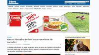 La campagne de publicité de Findus Suisse