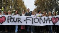 Les habitants de Clermont-Ferrand s'étaient mobilisés en nombre pour la fillette.