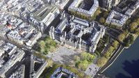La municipalité parisienne envisage de créer plusieurs forêts urbaines dans Paris, dont l'une devant l'Hôtel de Ville.