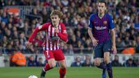 Antoine Griezmann est pressenti du côté du FC Barcelone.