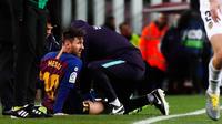 Lionel Messi doit passer des examens pour déterminer la nature de sa blessure.