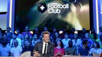 Hervé Mathoux présente le Canal Football Club depuis sa création en 2008.