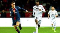 Marcus Thuram et les Guingampais ont réussi l'exploit d'éliminer le PSG en quart de finale.