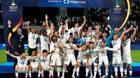 Le Real Madrid est l'actuel champion du monde des clubs.