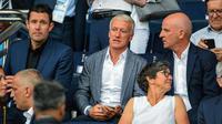 Didier Deschamps et les Bleus sont en tête de leur groupe.