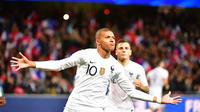 Auteur d'un doublé, Kylian Mbappé a évité à l'équipe de France une terrible désillusion.