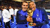 Malgré la deuxième étoile, l'équipe de France d'Antoine Griezmann et Kylian Mbappé va devoir progresser.