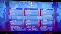 L'Euro 2020 se déroulera dans douze pays différents.