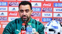 Xavi est actuellement l'entraîneur d'Al Saad au Qatar.