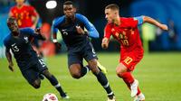 N'Golo Kanté, Paul Pogba et les Bleus ne recroiseront pas la route d'Eden Hazard et de la Belgique en mars.
