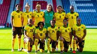 L'équipe de Jamaïque a participé à la Coupe du monde en France.