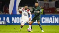Lyon et Nabil Fekir s'étaient imposés au match aller dans le derby face aux Stéphanois.
