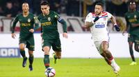 Radamel Falcao et les Monégasques avaient été sèchement battus au match aller à Lyon (3-0).