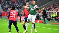 Lille s'était imposé à l'aller contre Saint-Etienne (3-1).