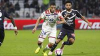Nabil Fekir et les Lyonnais avaient été accrochés au match aller par les Girondins (1-1).