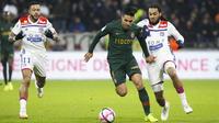 Radamel Falcao et les Monégasques s'étaient lourdement inclinés à l'aller à Lyon sous les ordres de Thierry Henry (3-0).