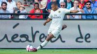 Kylian Mbappé avait inscrit un doublé lors du la victoire du PSG au match aller.